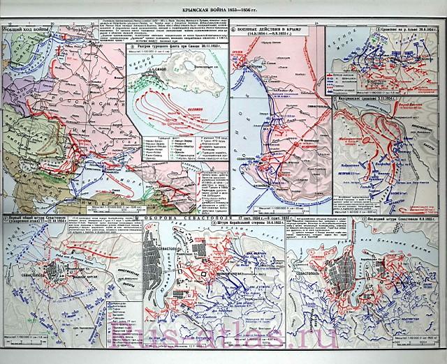 Схема Синопского сражения и